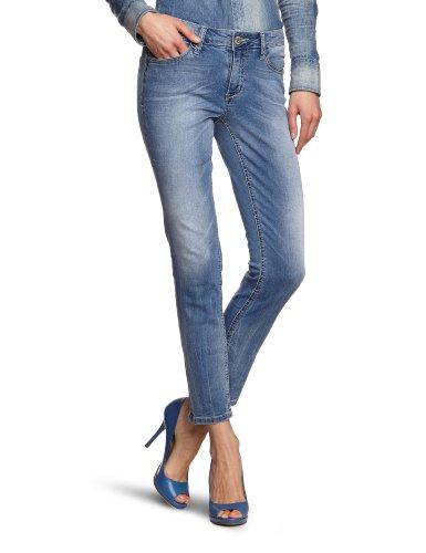 LERROS Damen Jeans Normaler Bund 3339831, Gr. 38/28, Blau (Bleached Denim 945)