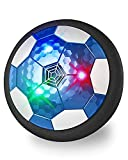 Maxesla Juguete Balón de Fútbol Flotante - Recargable Pelota Futbol con Protectores de Espuma Suave y Luces LED, Air Power Soccer para Niños de 3-12 Años