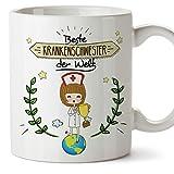 Mugffins Krankenschwester Tasse/Becher/Mug Geschenk Schöne And lustige kaffetasse - Beste...