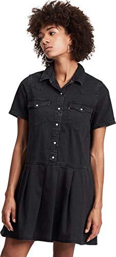 Levis Mirai Western Dress Black Sheep S
