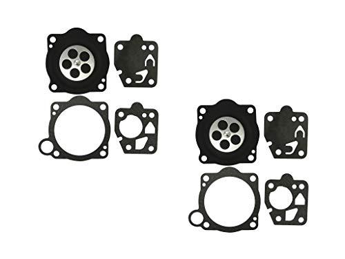 C·T·S Kit Guarnizione e diaframma per carburatore ZENOAH/Komatsu G5K TK (Confezione da 2)