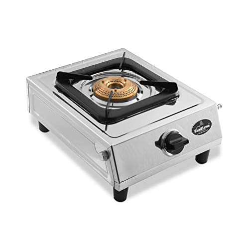 Sunflame Single Burner Dlx Stainless Steel 1 Burner Gas Stove...