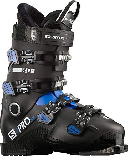 Salomon S/Pro HV 80 IC Ski Boots Mens Sz 11/11.5 (29/29.5) Black/Race Blue/White