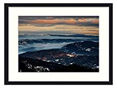 FRAMED: These canvas are with black frames.There is a acrylic panel in the front as a faceplate .And the picture canvas print are inset by the white cardboard .The back is fixed by black flannel and hardboard to complete the wall decor.Each panel has...