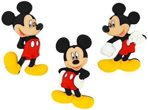 Dress It Up 7716 Disney Button Embellishments, Mickey Mouse