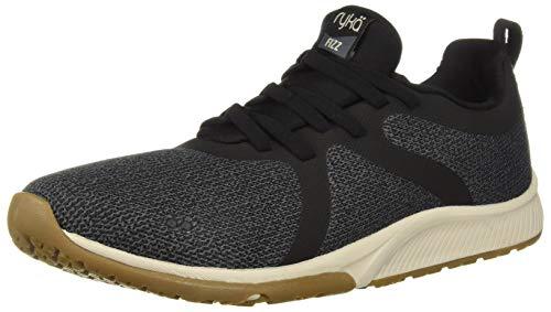 Ryka Women's Fizz Walking Shoe, Black, 6 W US