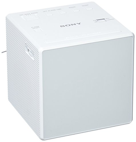 Sony Alarm Clock Radio, White