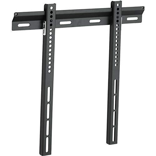 Vivanco - Soporte de pared para televisor (pantalla plana de hasta 140 cm), color negro