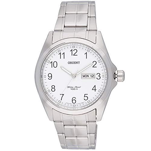 Orient Reloj Analógico para Hombre de Cuarzo con Correa en Acero Inoxidable FUG1H002W6