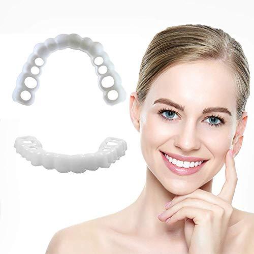 Sofortiges Lächeln der Zahnsilikonfurnier-Aufklebergesichtszähne reparieren die Zähne, die sofortiges perfektes Lächeln der wirksamen Kosmetik weiß Werden
