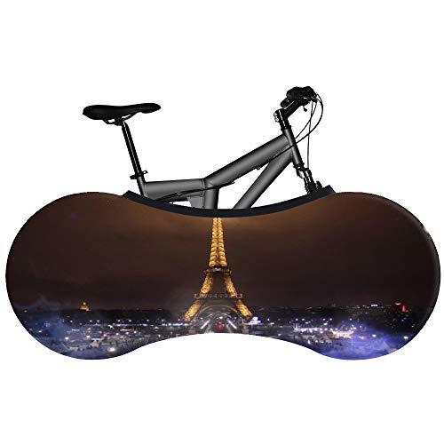 JTYX BIKE COVERS universele fietshoes Night City beste oplossing om vloeren en muren vuilvrij te houden mountainbike opbergtas voor 99% van alle fietsen voor volwassenen