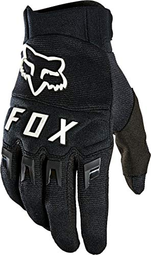FOX Dirtpaw Glove Black Black/White M