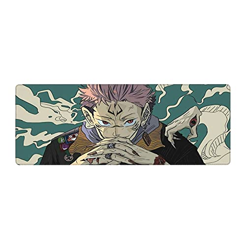 Weyfars Anime Mouse Pad Premium-Textured Gaming Mouse Pad with Non-Slip Rubber Base Large Mouse Pad for Home Office Work Gaming