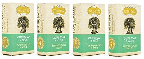 4x Olivenöl Creme Seife