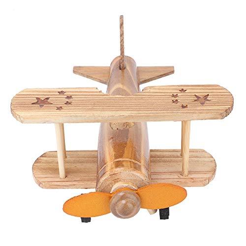 Juguete de Madera del Rompecabezas del avión de Combate, Juguete de Madera del Modelo de la construcción del Rompecabezas de la asamblea de DIY DIY para los Muchachos de Las Muchachas