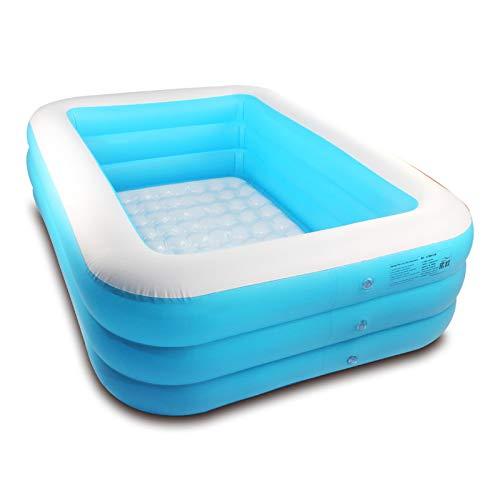SLAYY Piscina inflable, piscinas sobre el suelo, piscina infantil de tamaño completo de 1,8 m para niños y adultos