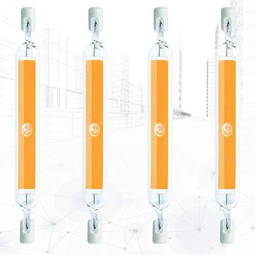 4X 360 ° R7s Led Reemplazo De La Bombilla Lineal Regulable 118 Mm 20w J118 6000k Doble Terminada J Tipo Juminión Super Máspante Equipalente 150w Lámpara Halógena