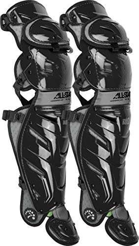 All-Star LG40WPROBK S7 Axis/Leg Guards/Adult BK