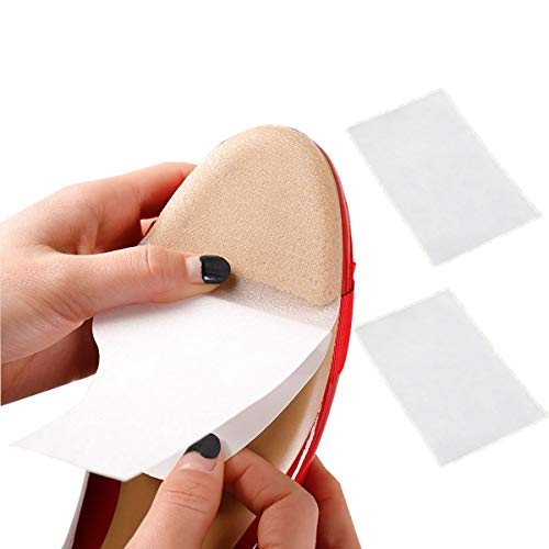 Sole Sticker - 2 pcs Crystal Clear Heels Self-Stick Pads Sole Protector Shoe Bottoms Slip Resistant Shoe Sole