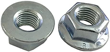 5 M12 - 1.5 Hexagon Flange Nut - Non-Serrated Class 8 Zinc. DIN 6923 / ISO 4161