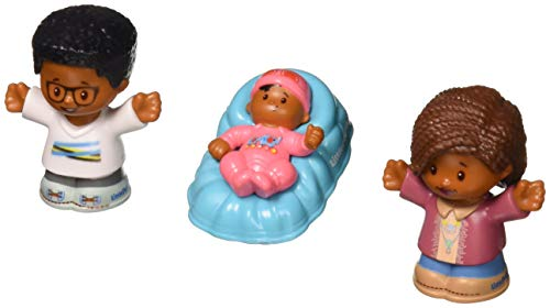 Fisher-Price Little People Big Helpers Family, African American