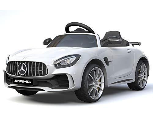 Mercedes - Benz GTR AMG Elektro Kinderauto Modell 2018 - White Edition*