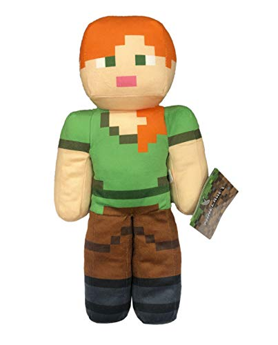 Minecraft - Plush toys 11'81'/30cm of Minecraft Steve, Alex, Creeper,...