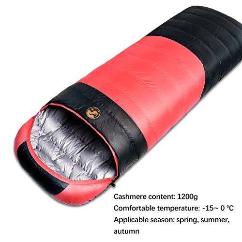 Xiao Jian Ultralichte slaapzak voor backpacking comfort voor volwassenen warm weer voor outdoor wandelen