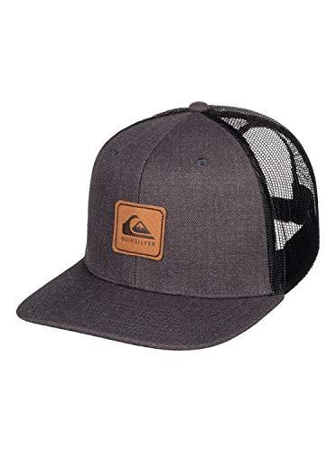 Quiksilver - Gorra Trucker - Hombre - One Size - Negro