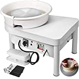 Mophorn Pottery Wheel 25CM Pottery Forming Machine 350W Electric Pottery Wheel...