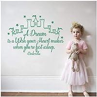 ウォールステッカー ウォールデコ壁紙シール おとぎ話の城の子供部屋の装飾 デカールリビング寝室子供部屋キッチン飾りステッカーアートポスター42X59CM