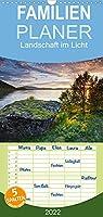 Landschaft im Licht - Familienplaner hoch (Wandkalender 2022 , 21 cm x 45 cm, hoch): Landschaftsfotografien (Monatskalender, 14 Seiten )