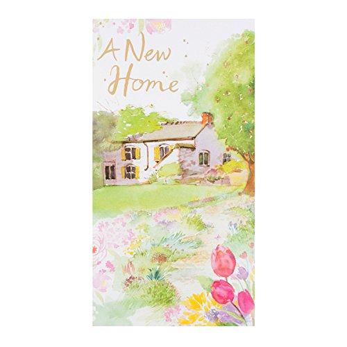 "Hallmark New Home Card ""Wishing You Happiness"" - Medium"
