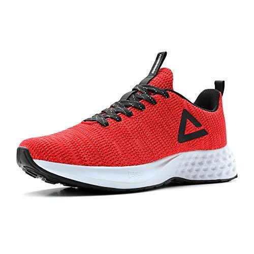 PEAK Taichi Mens Comfortable Lightweight Running Shoes - Taichi EGGII Cushioning Breathable Walking...