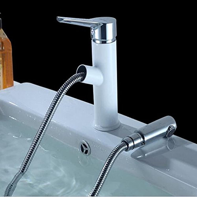 Unbekannt Wasserhahn Hot & Cold Badezimmer Becken voll Kupfer ziehen Bad Wasserhahn