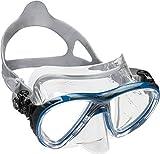 Cressi Big Eyes Evolution, Taucherbrille Erwachsene mit Crystal Silicone, Made in Italy