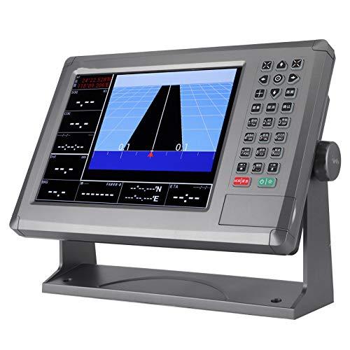 Navigateur marin Qiilu, traceur de cartes GPS marin 10.4in écran LCD de Navigation de navire IPX6...