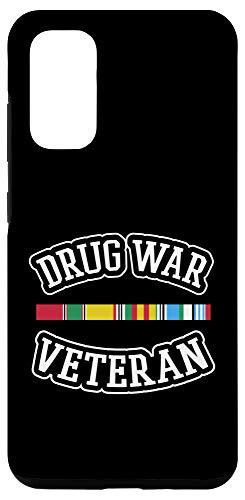 Galaxy S20 Veteran Shirt Drug War Tees Men Women Teens USA Freedom Gift Case