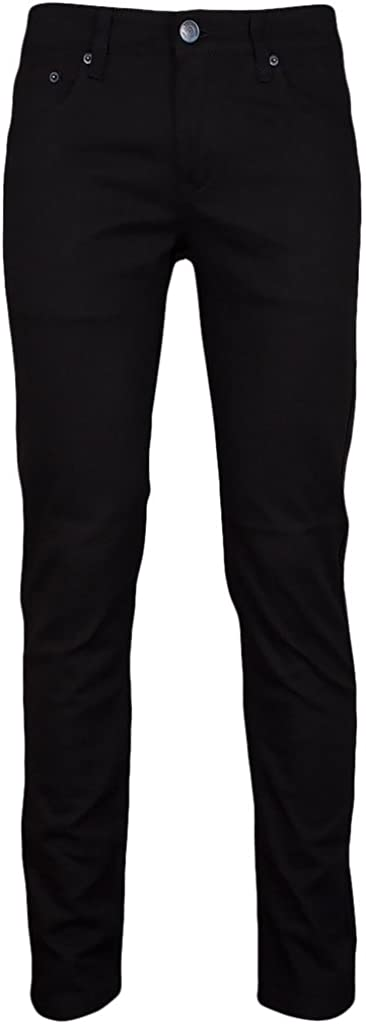 Fees free Victorious Men's Cheap mail order shopping Skinny Fit Jeans-36x32-Black Color