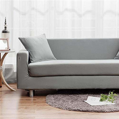 WXQY Funda de sofá geométrica para Sala de Estar Funda de sofá elástica elástica Antideslizante Totalmente Envuelta a Prueba de Polvo sofá Toalla Funda de sofá A15 2 plazas
