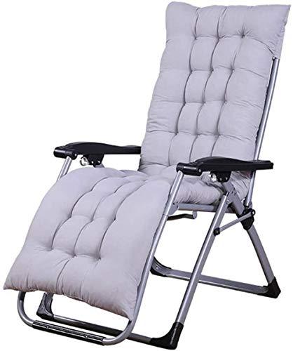 Tumbonas tumbonas relajantes, sillas reclinables, sillas de gravedad cero, sillas de cubierta, tumbonas, plegable, súper ancho, reclinable, playa, jardín