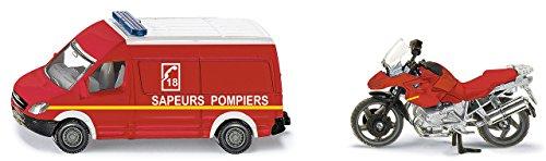 Siku 165600102 - Feuerwehr Set, Fahrzeuge