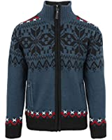 ICEWEAR Gunnar Norwegian Fully Lined Jacket | Comfortable Wear Sweater Dark Slate