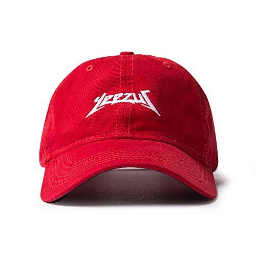 AA Apparel Yeezus Tour Glastonbury Dad Hat Kanye West Yeezy - Rot - Einheitsgröße