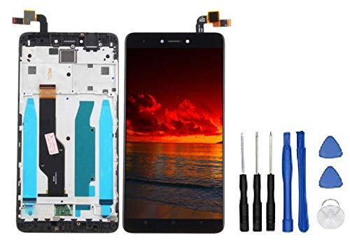 Theoutlettablet® Pantalla LCD Completa capacitiva con tactil digitalizador para Smartphone Xiaomi Redmi Note 4X / Note 4 Global (Qualcomm Snapdragon 625 CPU) con Marco