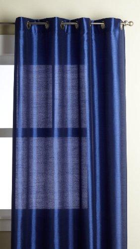 Editex Heimtextilien Elaine Fenster Panel, 58durch 63-inch, Marineblau