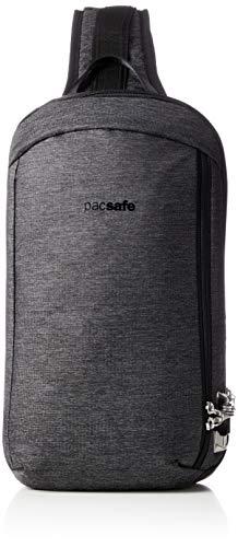 Pacsafe Vibe 325 Umhängetasche, 10 Liter, diebstahlsicher, Granit Melange (Grau) - 60221129