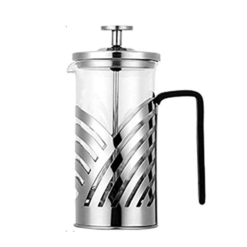 Fantastic Prices! Stainless Steel French Press Coffee Maker Insulated Coffee Tea Brewer Pot Cafetier...