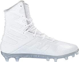 Under Armour Men's Highlight MC Lacrosse Shoe, White (101)/White, 11