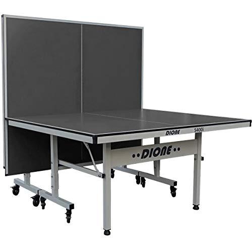 Dione S400i - Mesa de ping pong para interior (tamaño completo, plegable, 70 kg), color gris